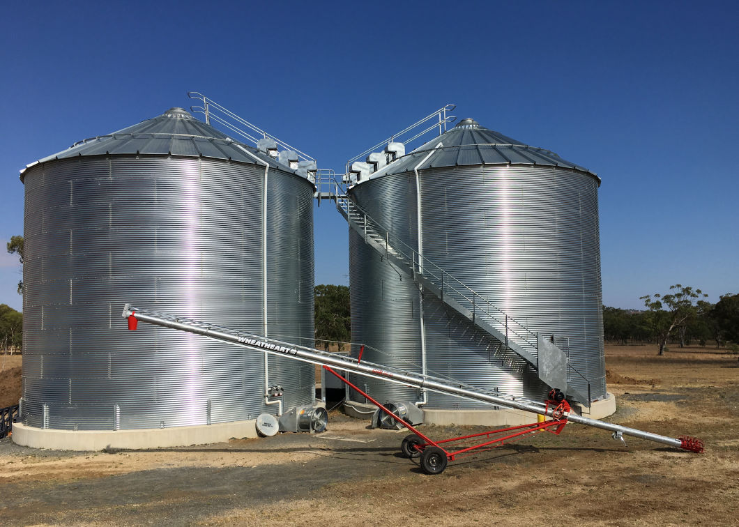 Transportable Grain Auger